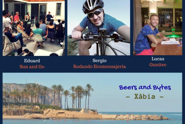 """Cala Bandida acoge un nuevo éxito del """"Beers & Bytes"""" con emprendedores tecnológicos"""