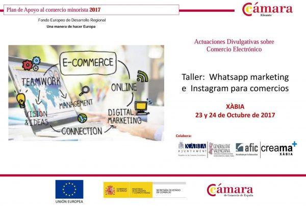Curso: Whatsapp marketing e Instagram para comercios