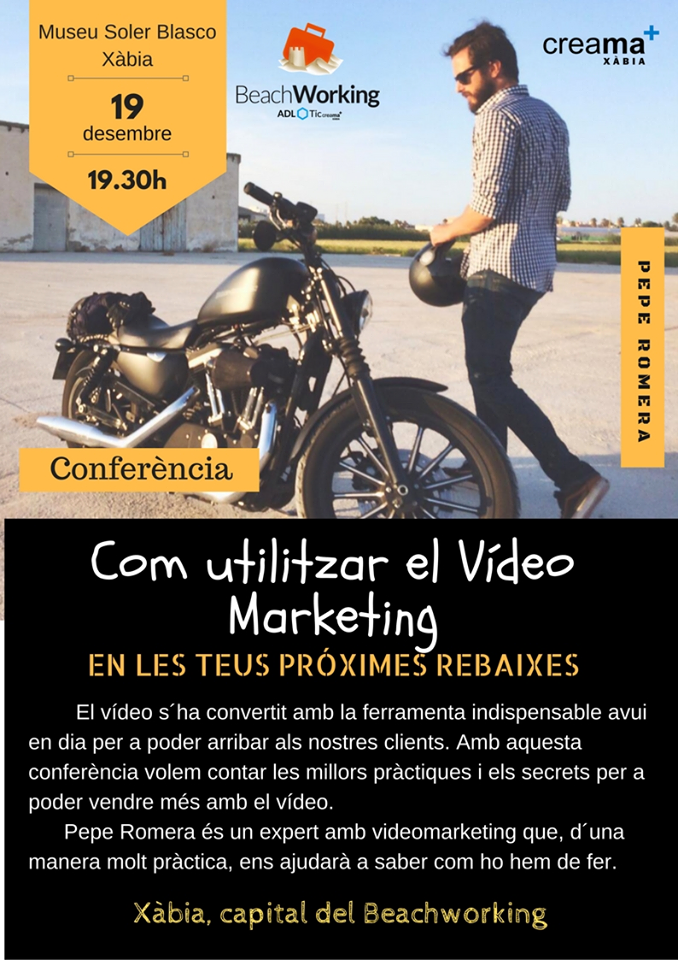 Conferencia como utilizar el vídeo marketing